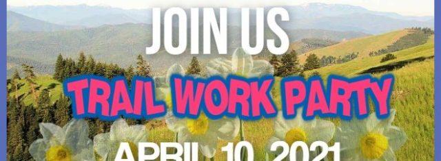 SUTA April 10 Trail Work Party